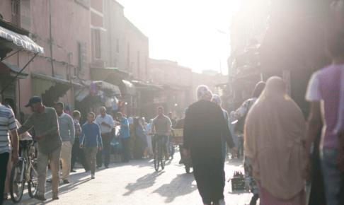 ANA ビジネスクラス モロッコ