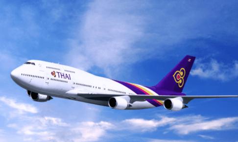 タイ国際航空 TG660便(B747)で初めてのファーストクラス
