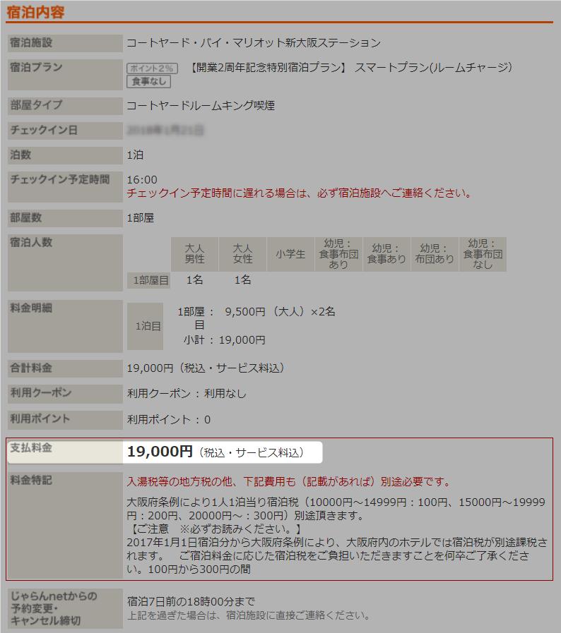 ベストレート保証 コートヤード新大阪ステーション じゃらん