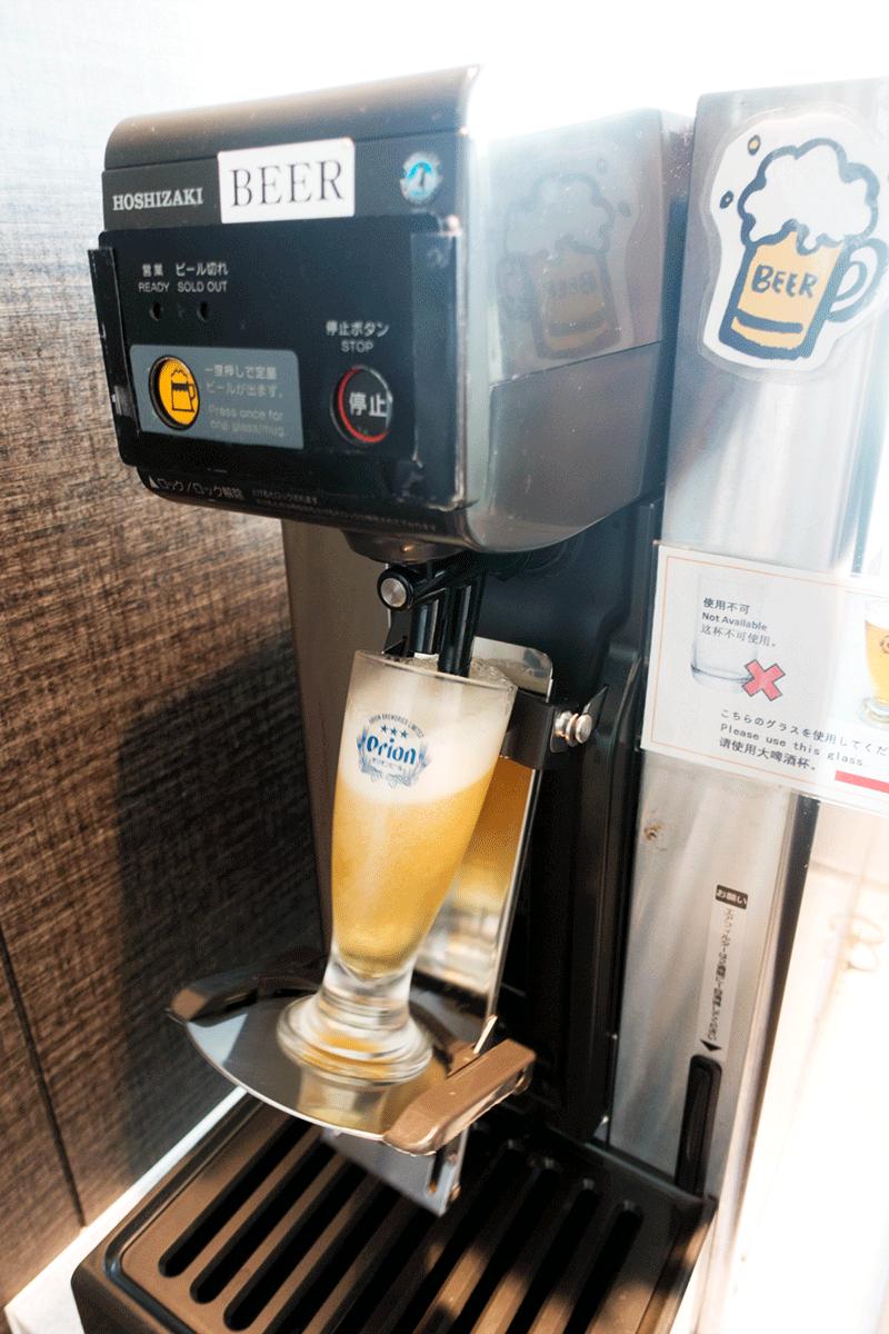 那覇空港国際線ラウンジ 「琉輪」オリオンビール