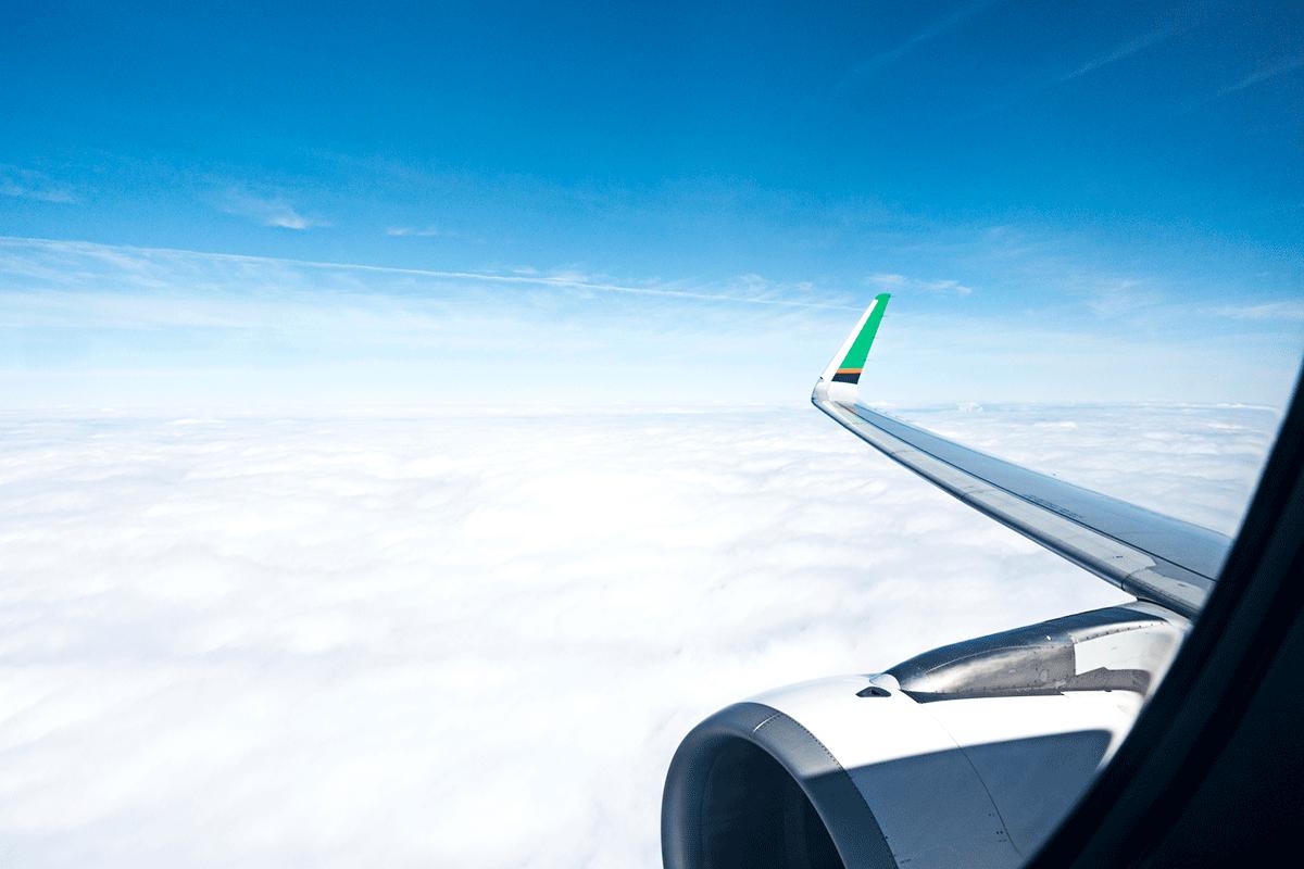 エバー航空 BR113 A321-200 那覇ー台北