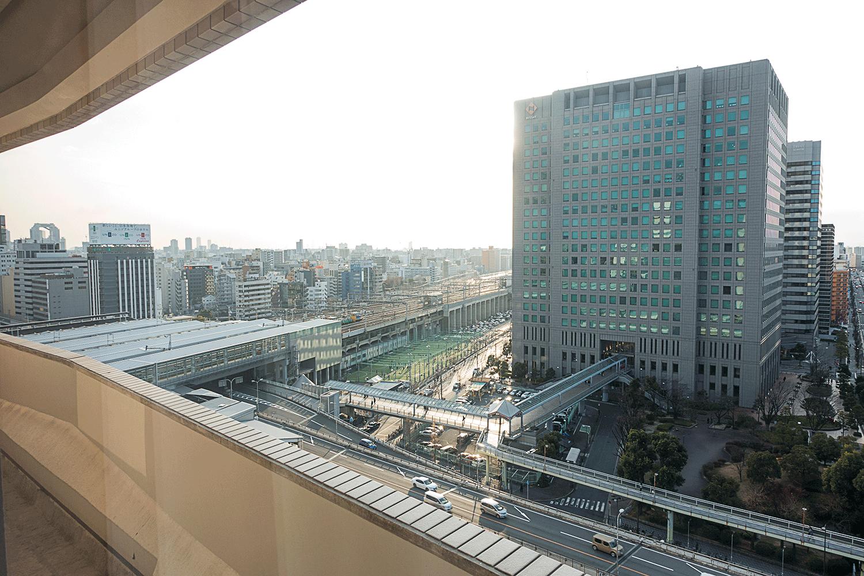 コートヤード・バイ・マリオット新大阪ステーション ハイフロアキングルーム 景色