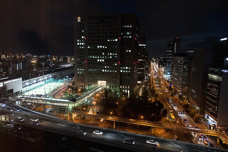 コートヤード・バイ・マリオット新大阪 夜景
