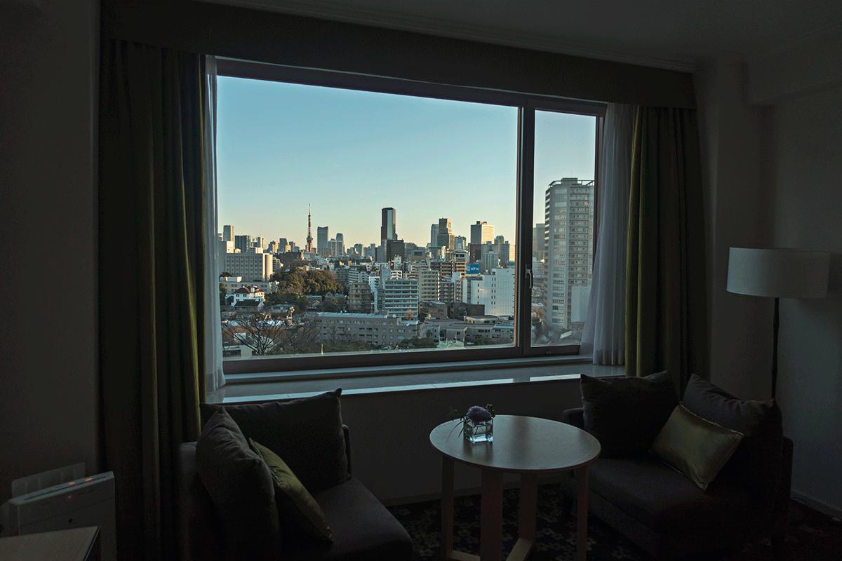 ザ・プリンスさくらタワー東京 夜明け