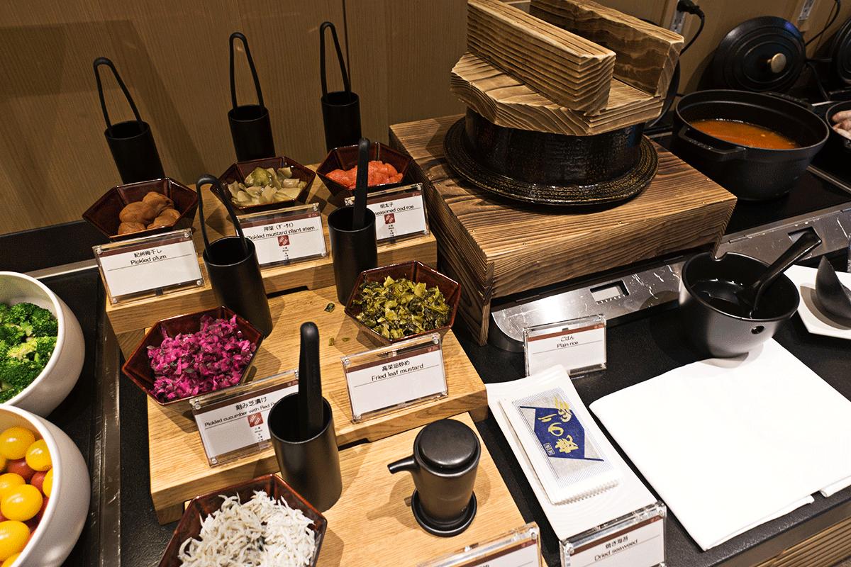ザ・プリンスさくらタワー東京ラウンジの和食