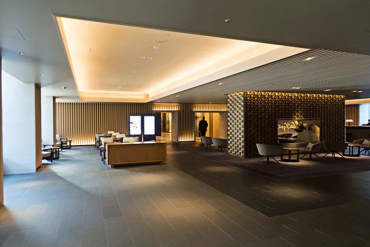 ザ・プリンスさくらタワー東京 ロビー