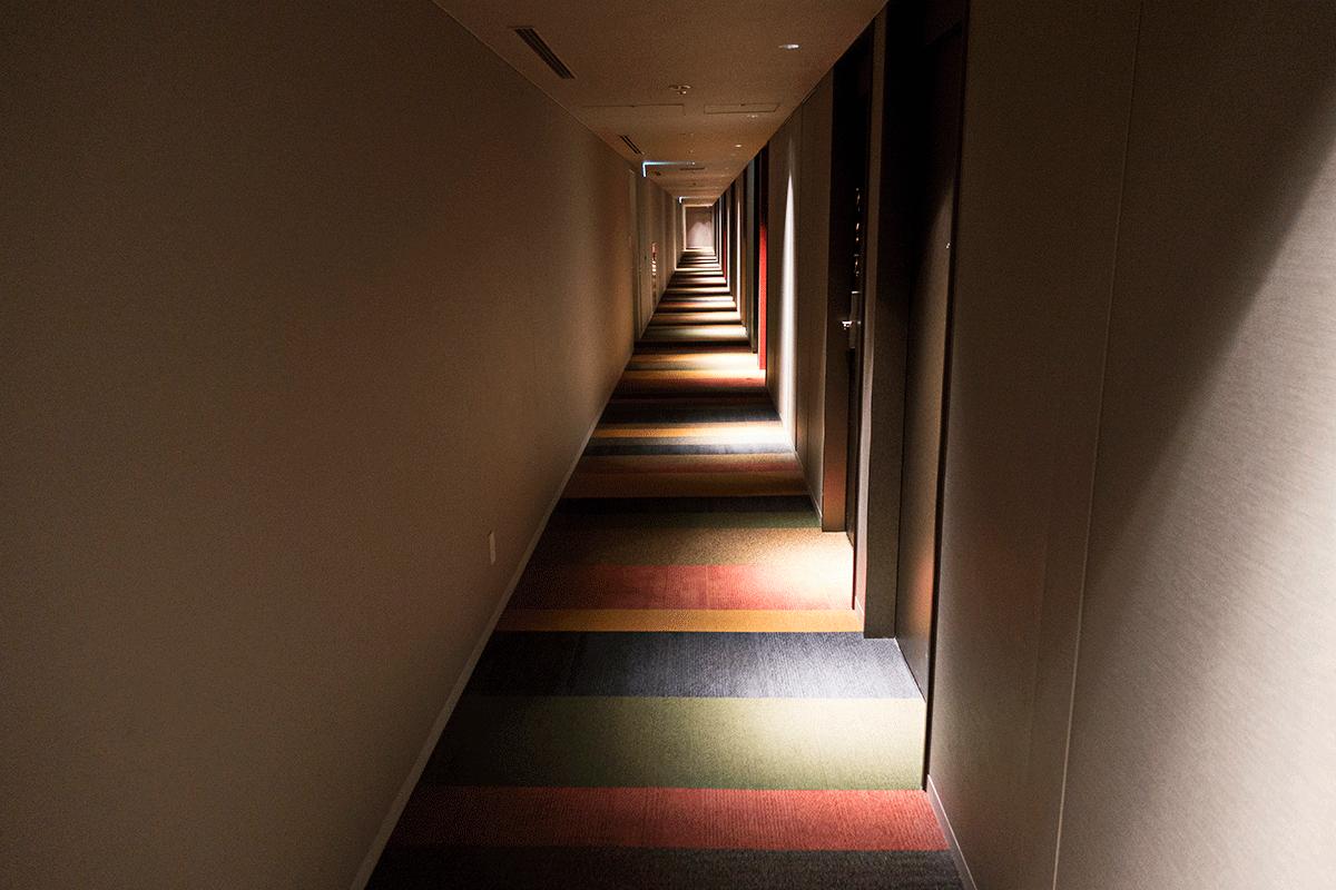 コートヤード・バイ・マリオット東京ステーション 廊下