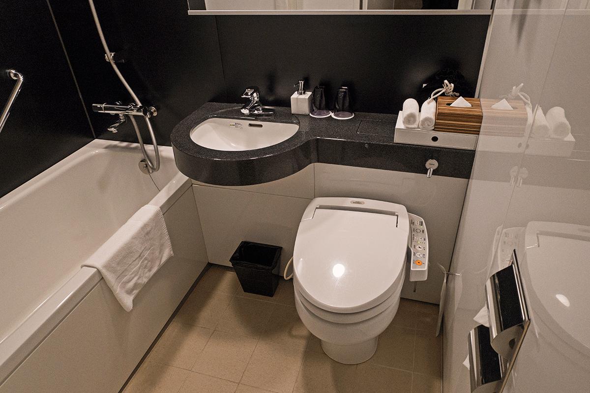 コートヤード・バイ・マリオット東京ステーション トイレ