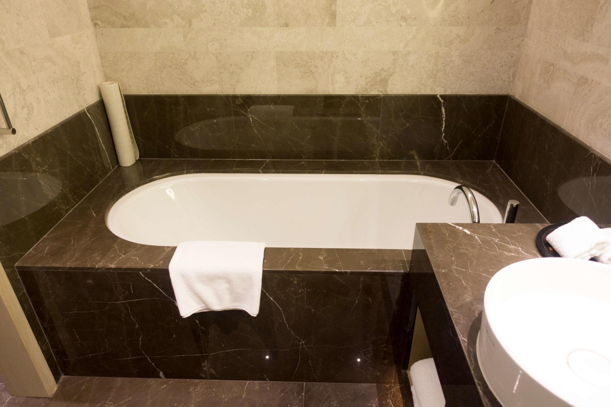 台北マリオットホテル のバスルーム