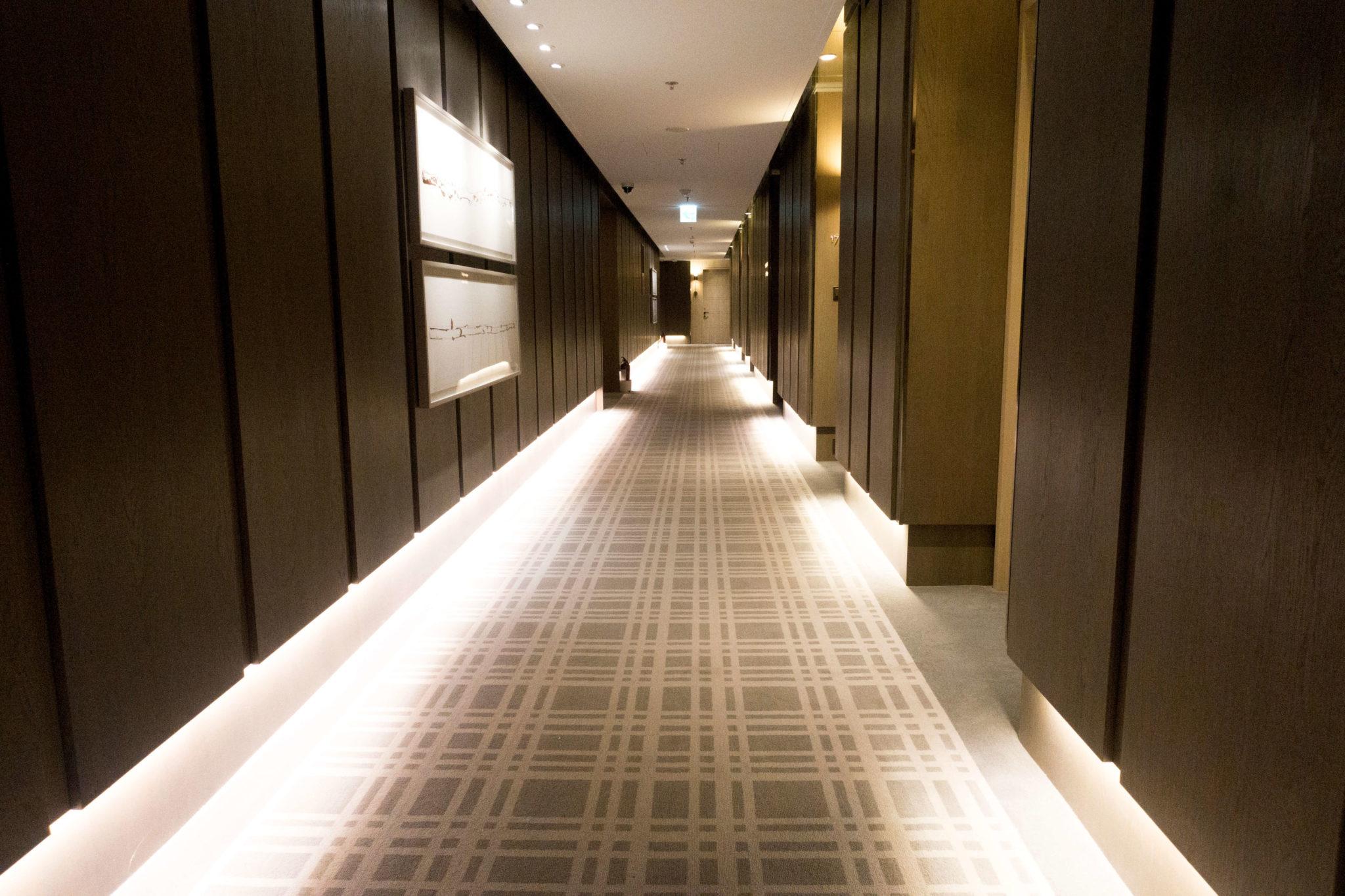 台北マリオットホテル 廊下