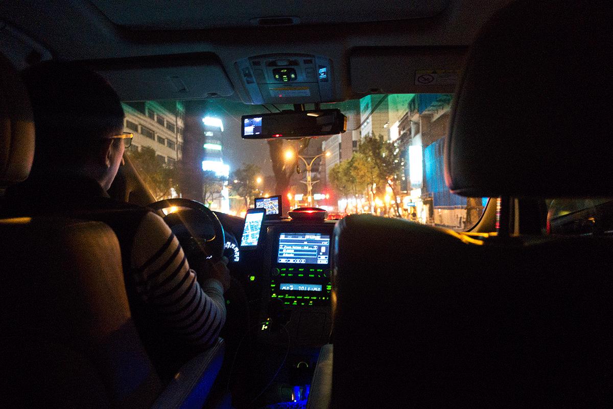 台湾でUBER