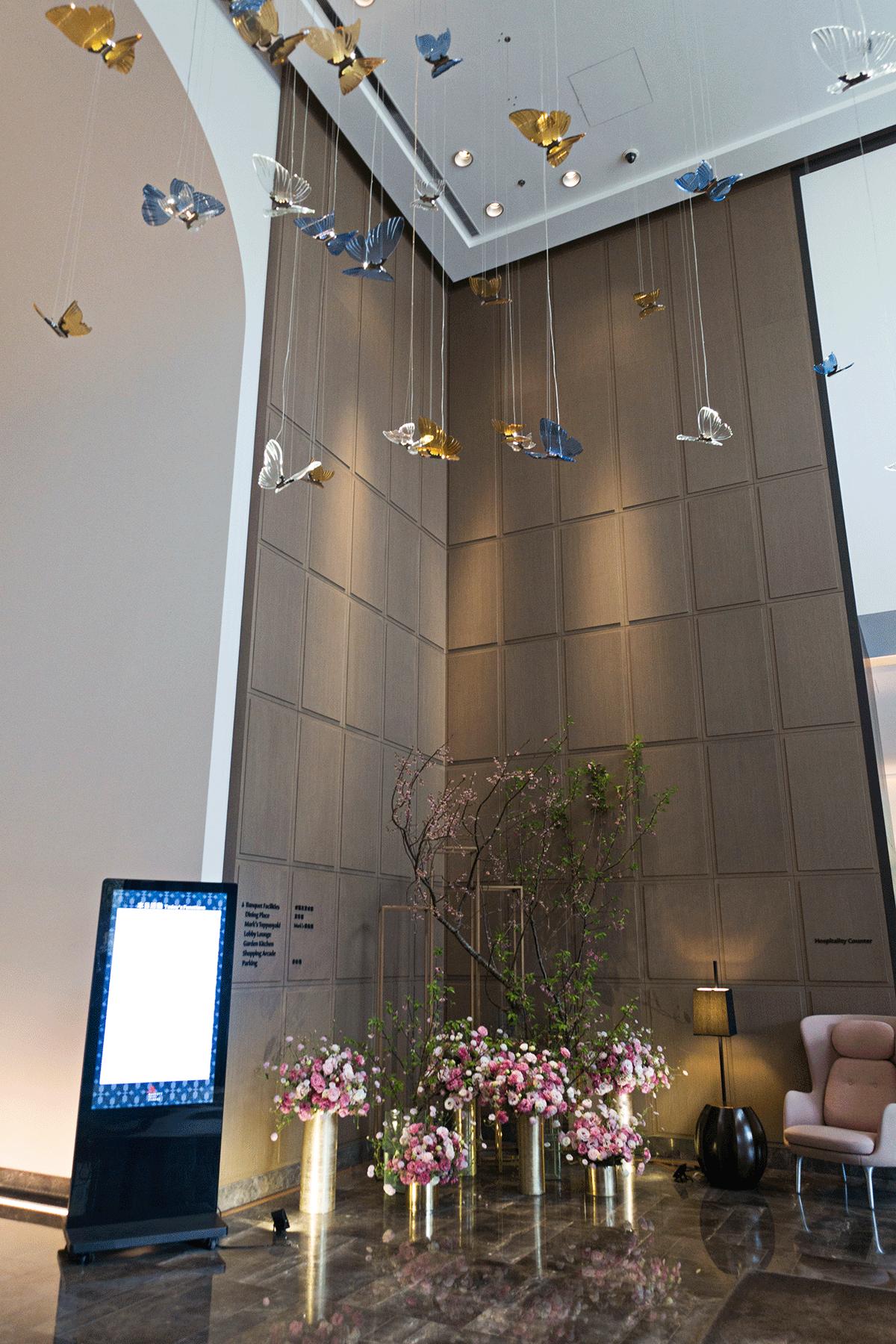 台北マリオットホテル ロビー