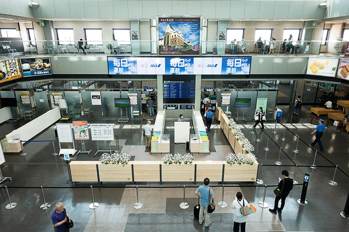 松山空港国内線ターミナル