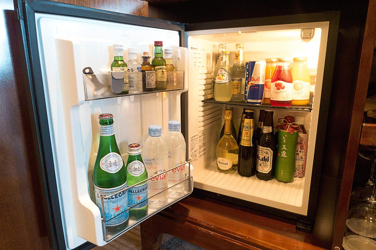 ザ・リッツ・カールトン東京の冷蔵庫