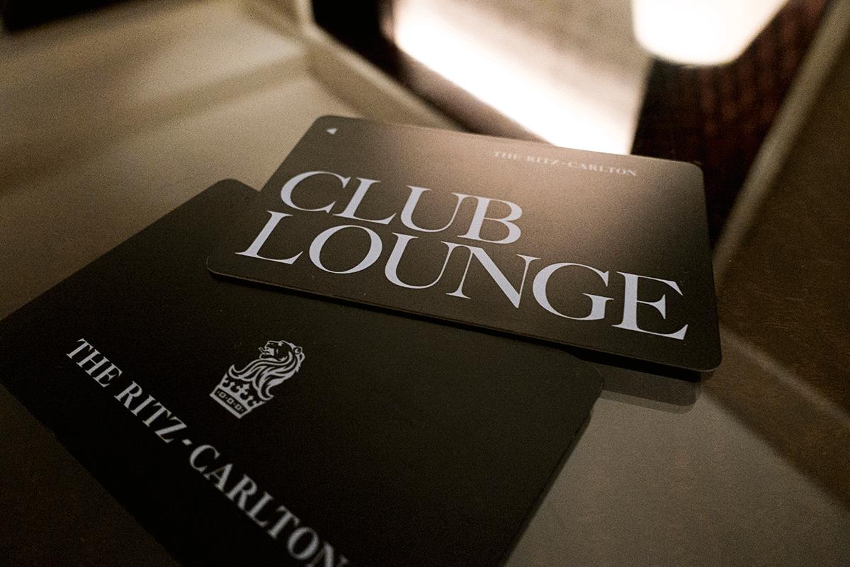 ザ・リッツ・カールトン東京クラブラウンジのアクセスキー