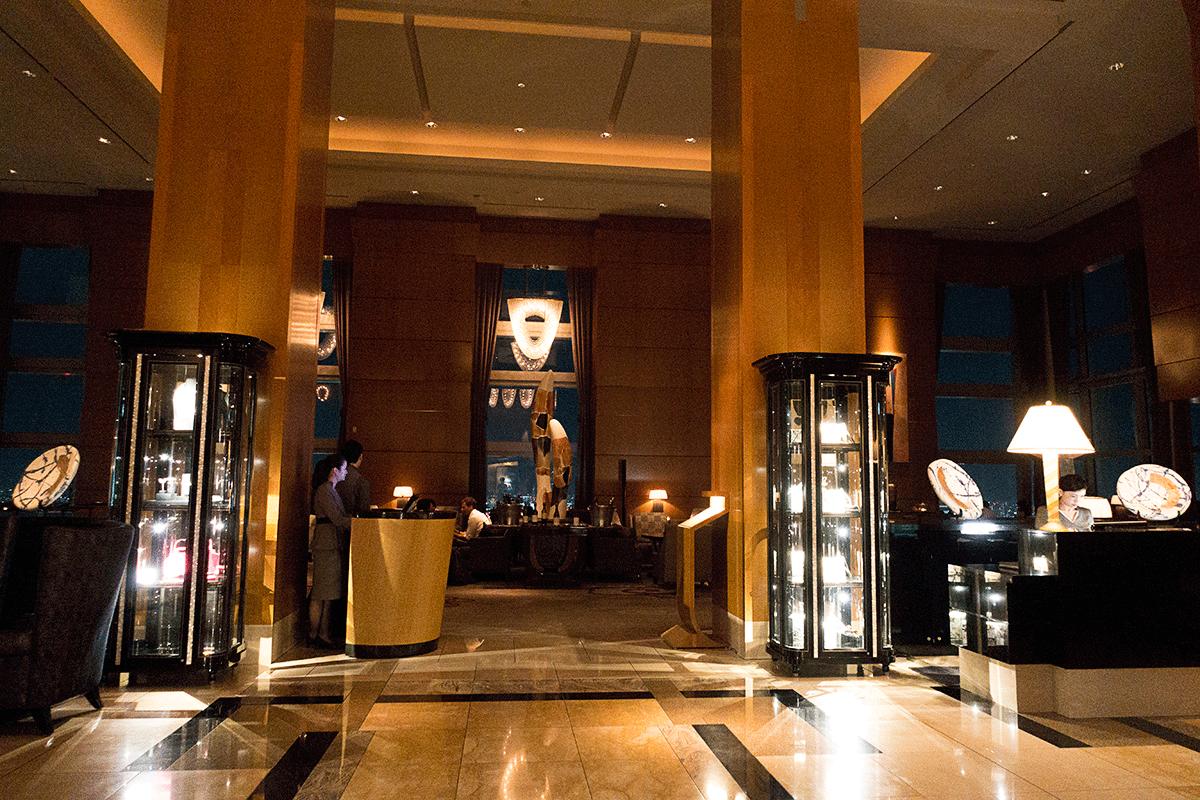 ザ・リッツ・カールトン東京45階