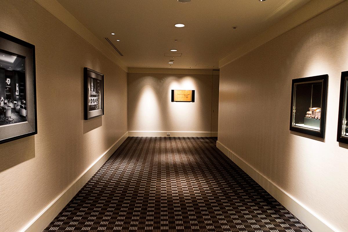 ザ・リッツ・カールトン東京の廊下