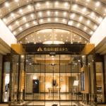松山全日空ホテルのエントランス