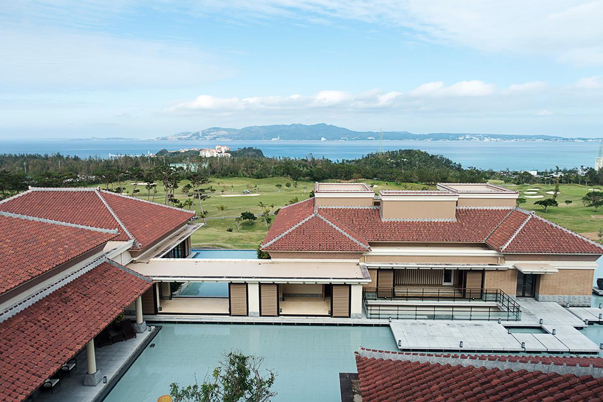 ザ・リッツ・カールトン沖縄プレミアデラックスルームからの眺め