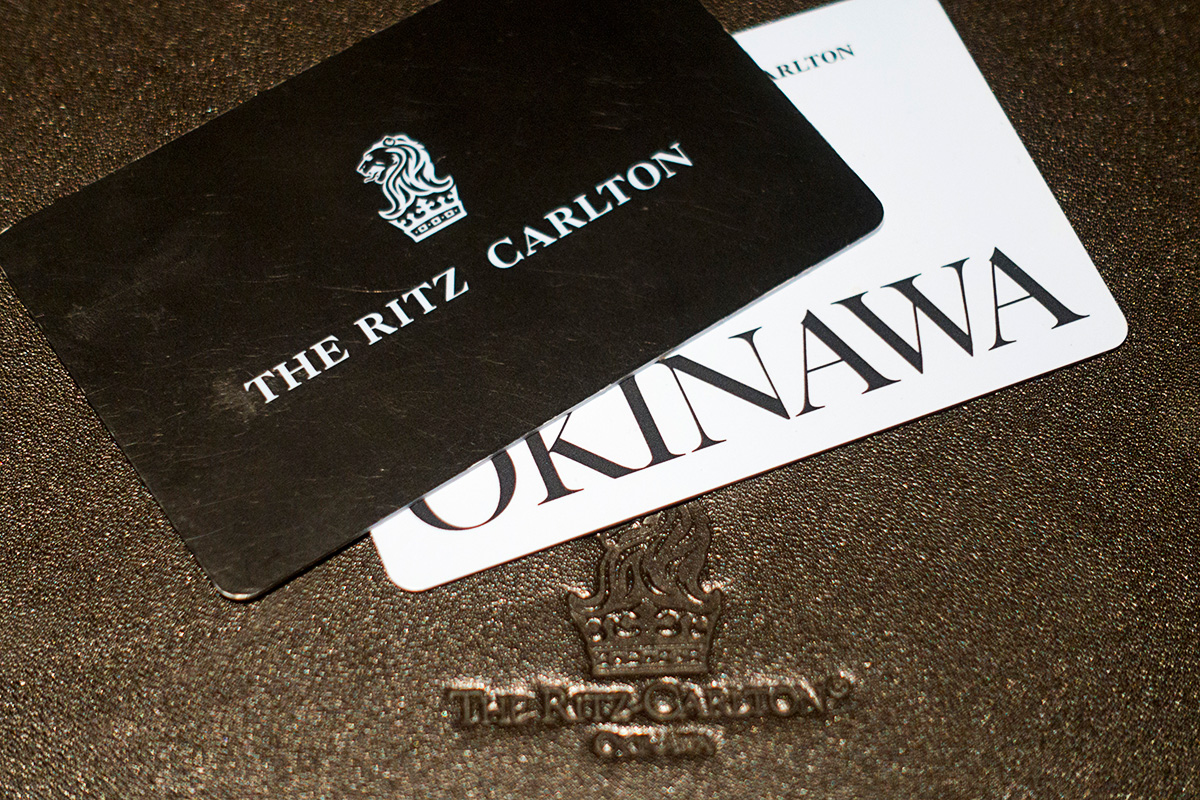 ザ・リッツ・カールトン沖縄のカードキー