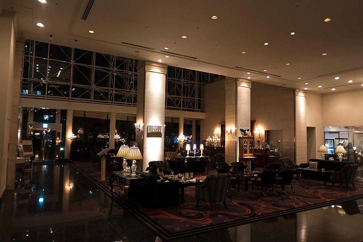 ウェスティンホテル大阪のロビーラウンジ