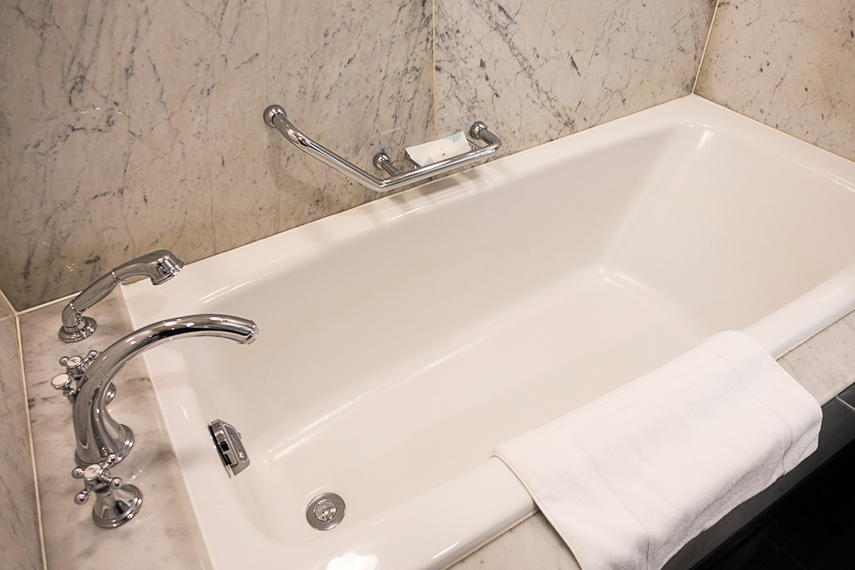 ウェスティンホテル大阪エグゼクティブルームのバスルーム