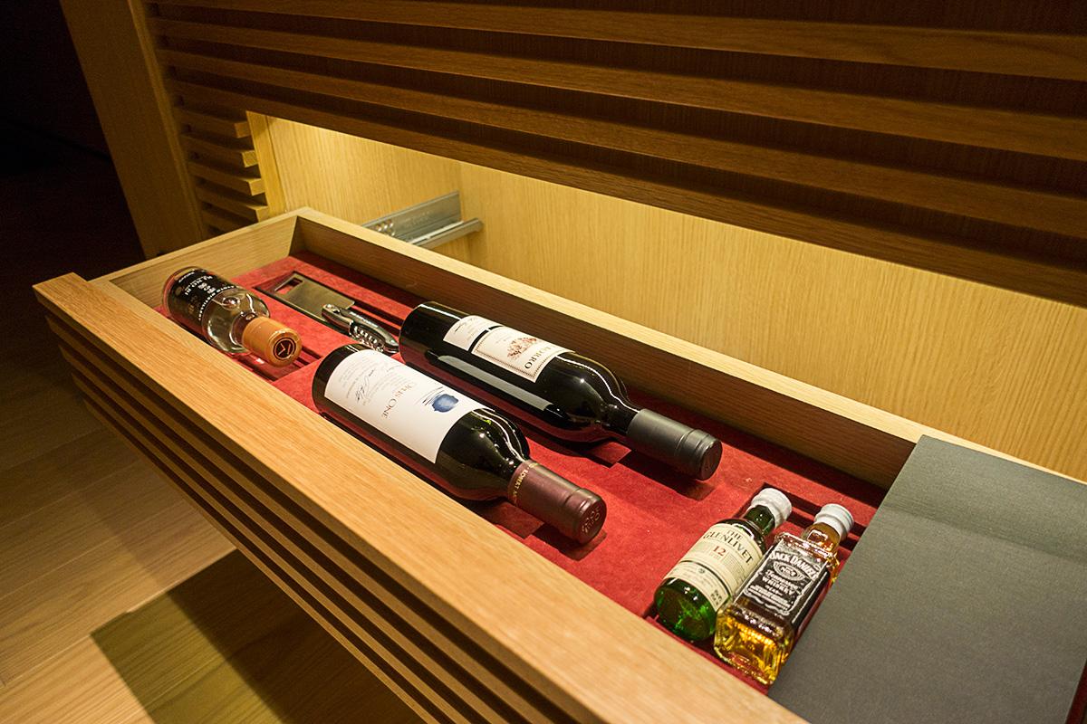 デラックスガーデンルームのワイン