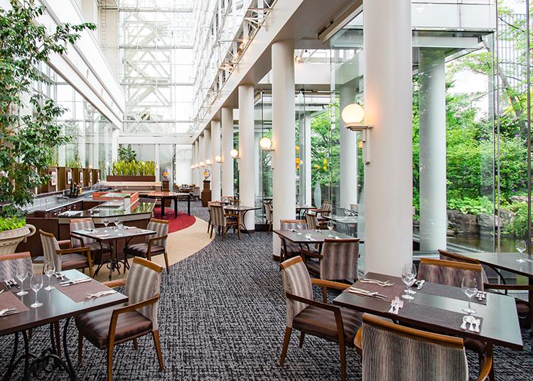 ウェスティンホテル大阪のレストラン「アマデウス」