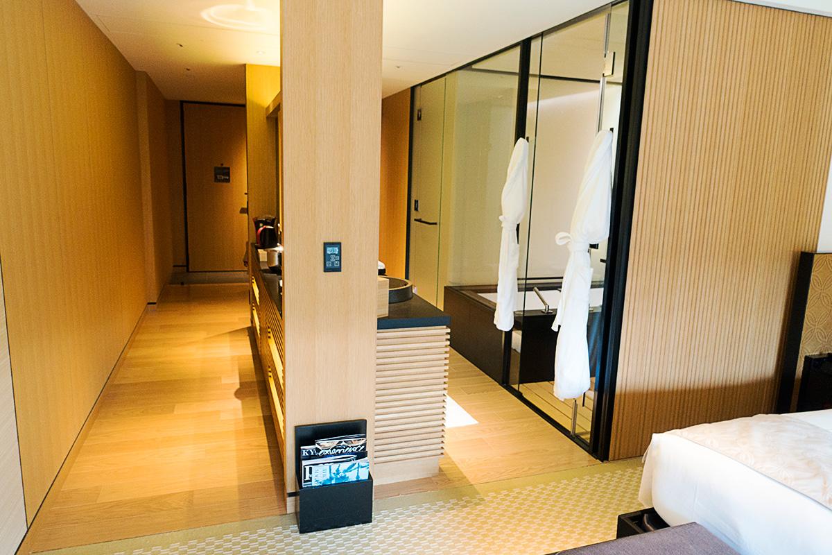 ザ・リッツ・カールトン京都デラックスガーデンルームの客室