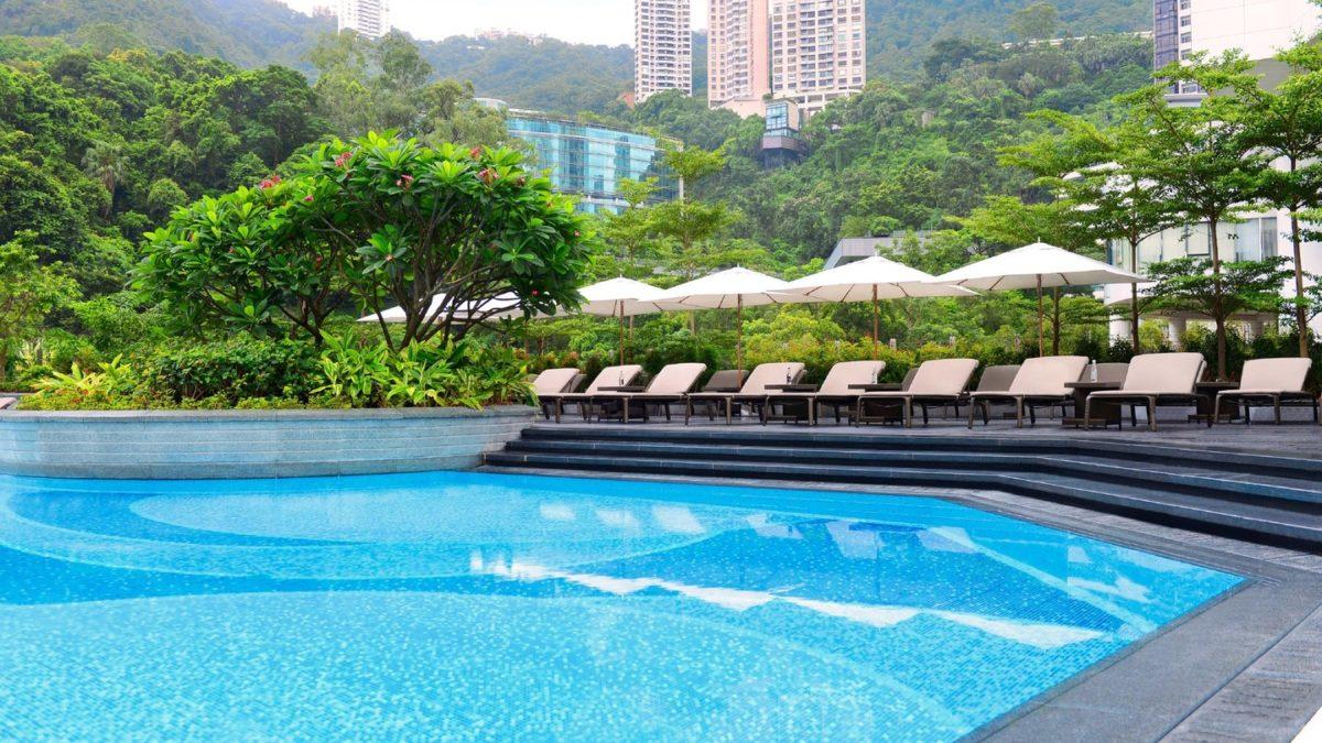 JWマリオット香港のプール
