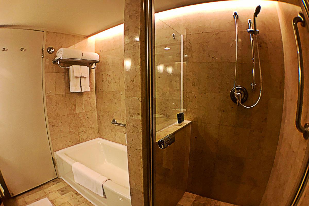 JWマリオット香港のバスルーム