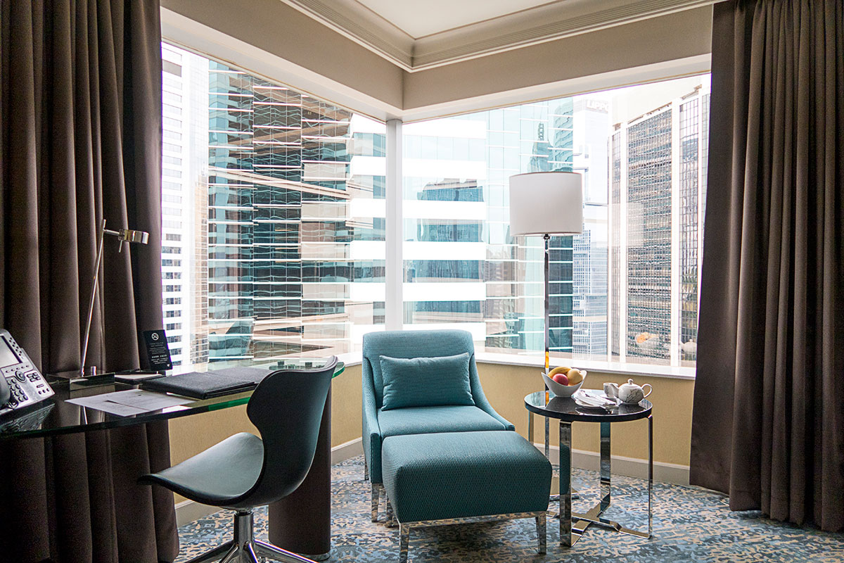 JWマリオット香港の部屋からの風景