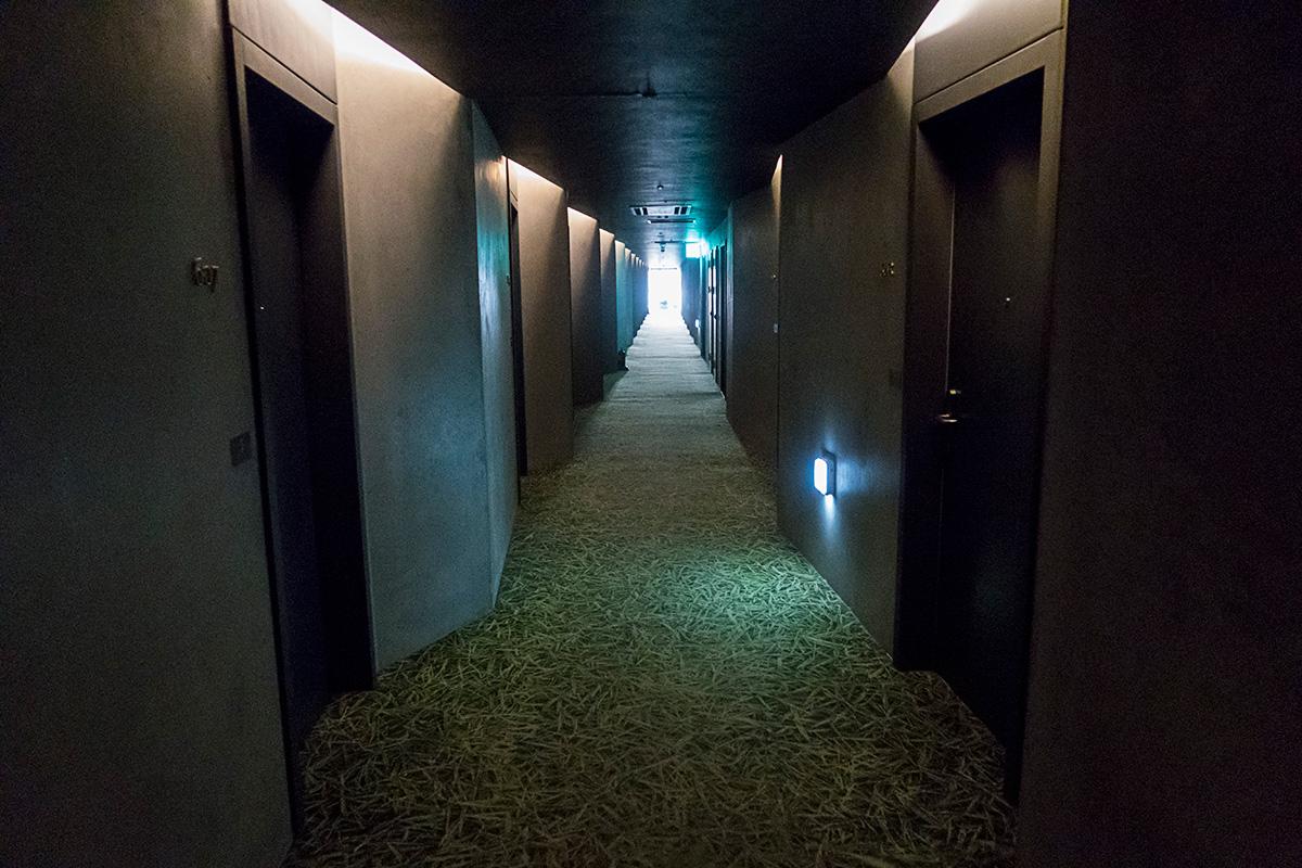 ネストホテルインチョンの廊下