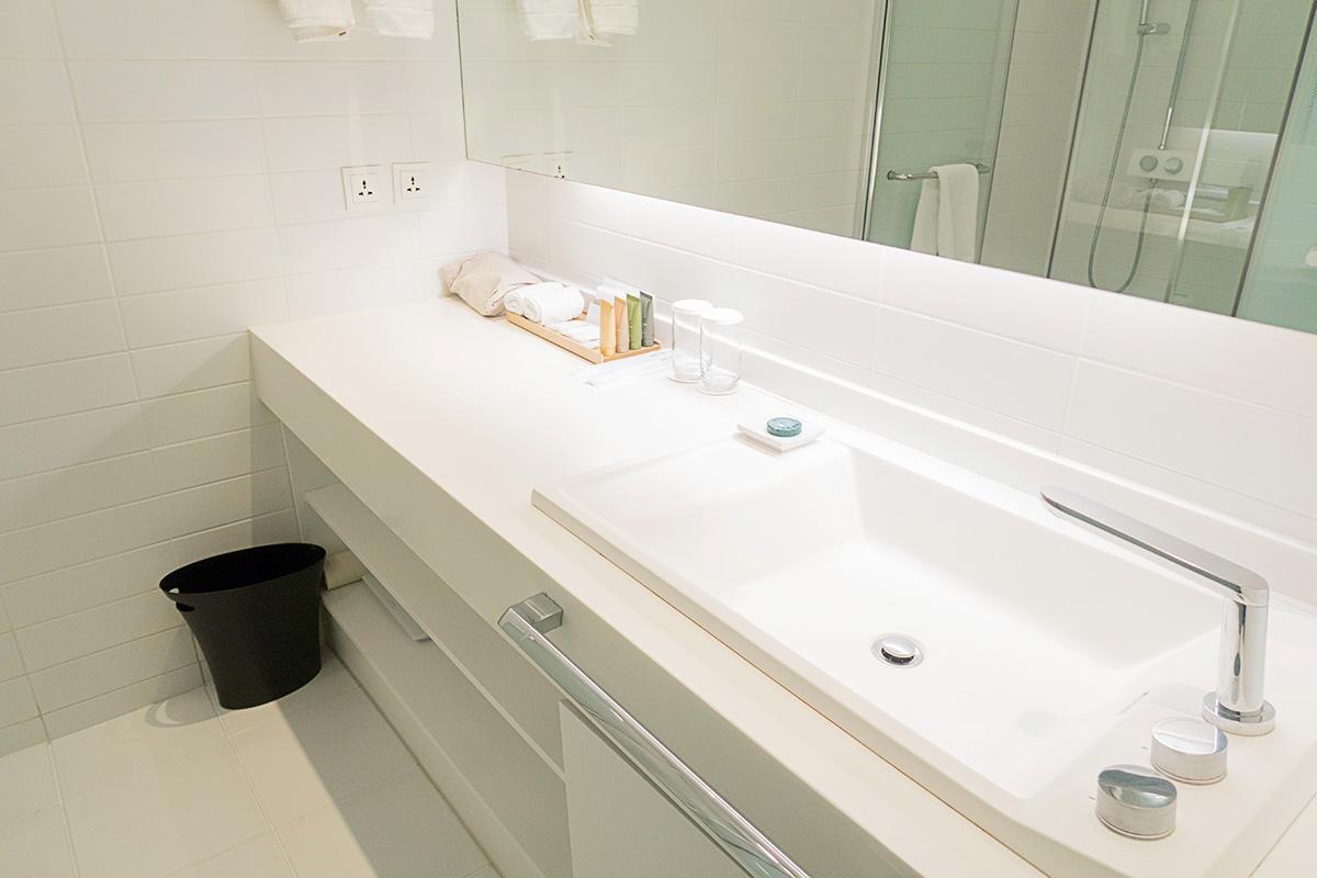ネストホテルインチョンのシャワールーム