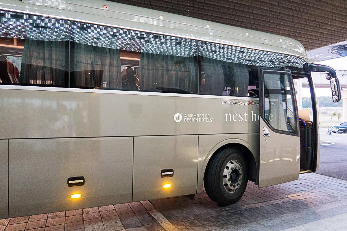 ネストホテルインチョンの無料リムジンバス