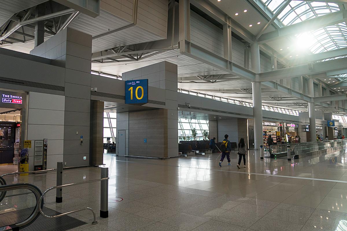仁川国際空港10番ゲート