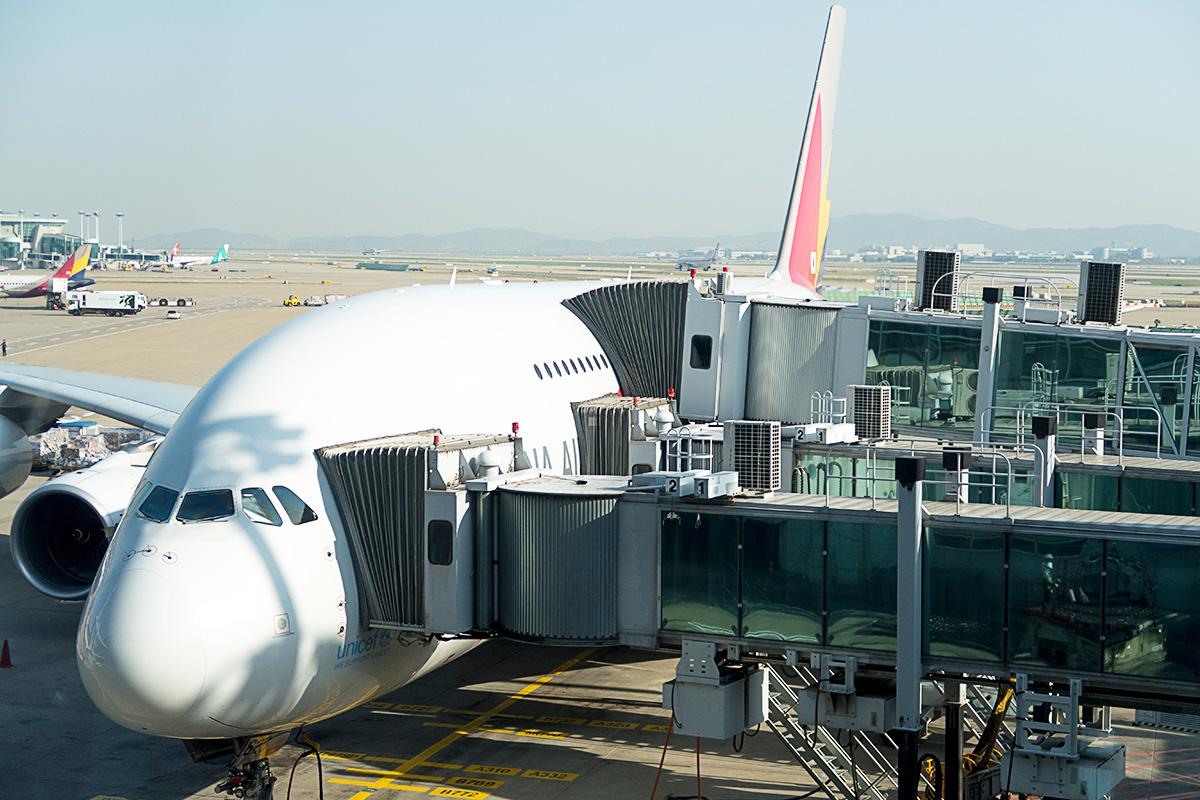 アシアナ航空のA380