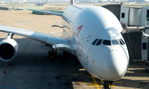 アシアナ航空OZ102便A380