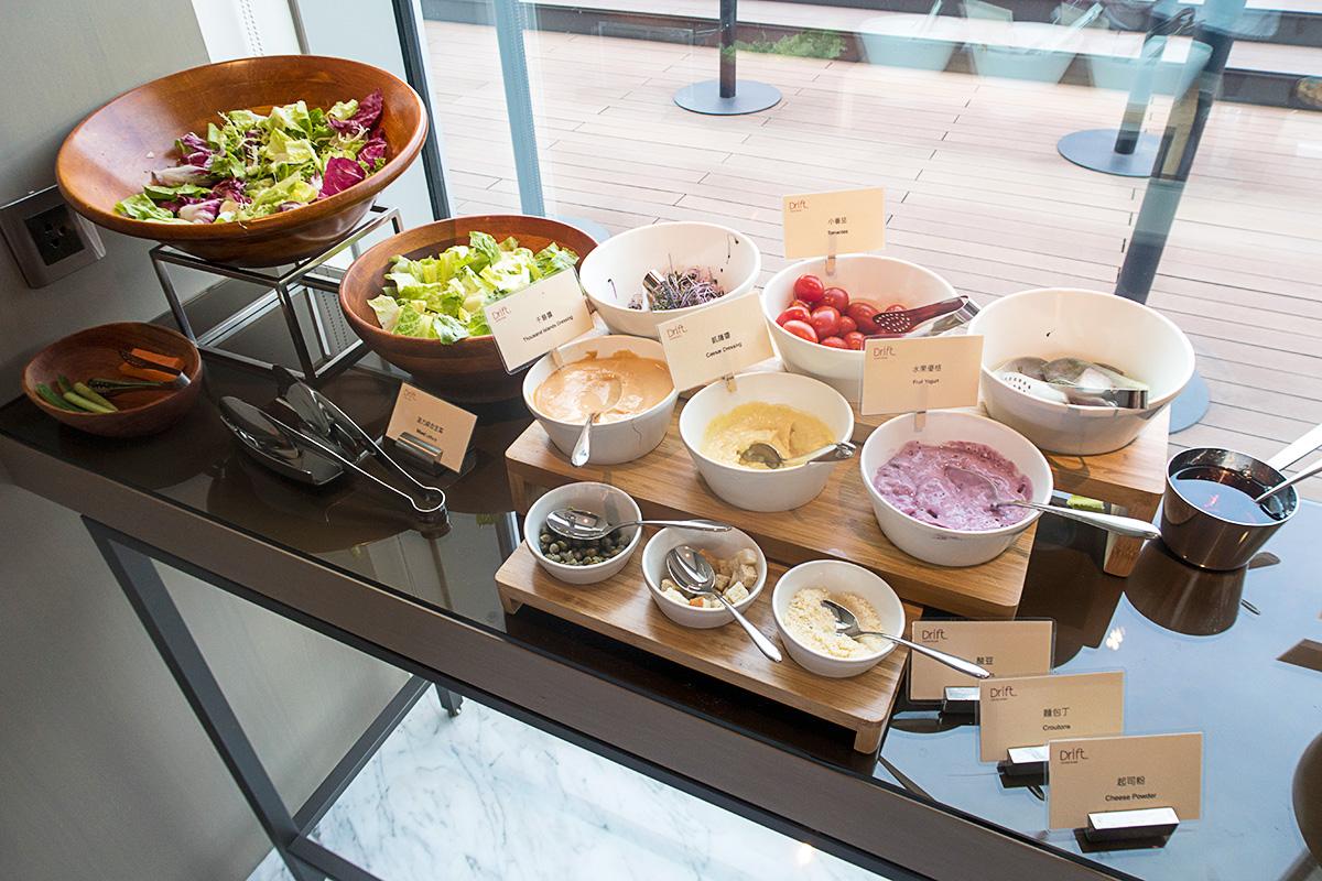 コートヤード台北ダウンタウンの朝食