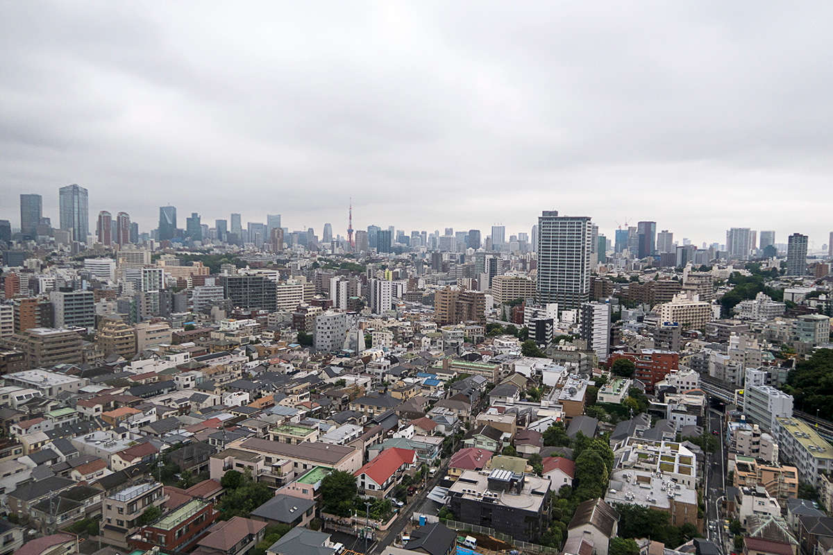 ウェスティンホテル東京から見る景色