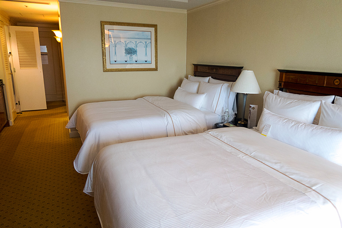 ウェスティンホテル東京のベッドルーム