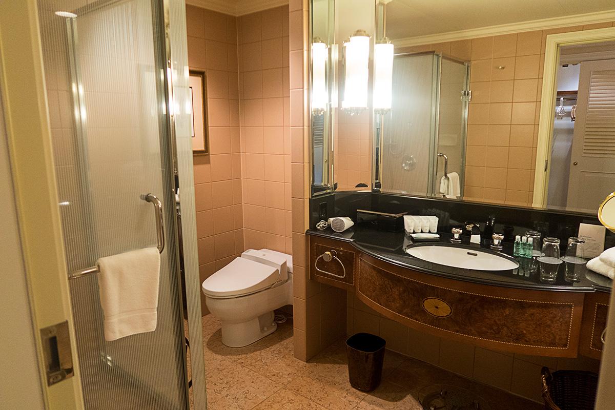 ウェスティンホテル東京の洗面台