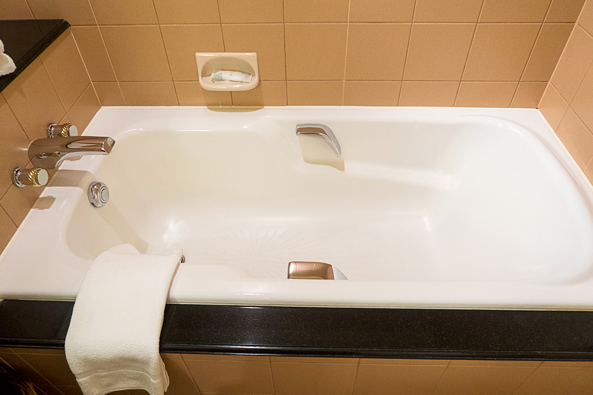 ウェスティンホテル東京のバスルーム