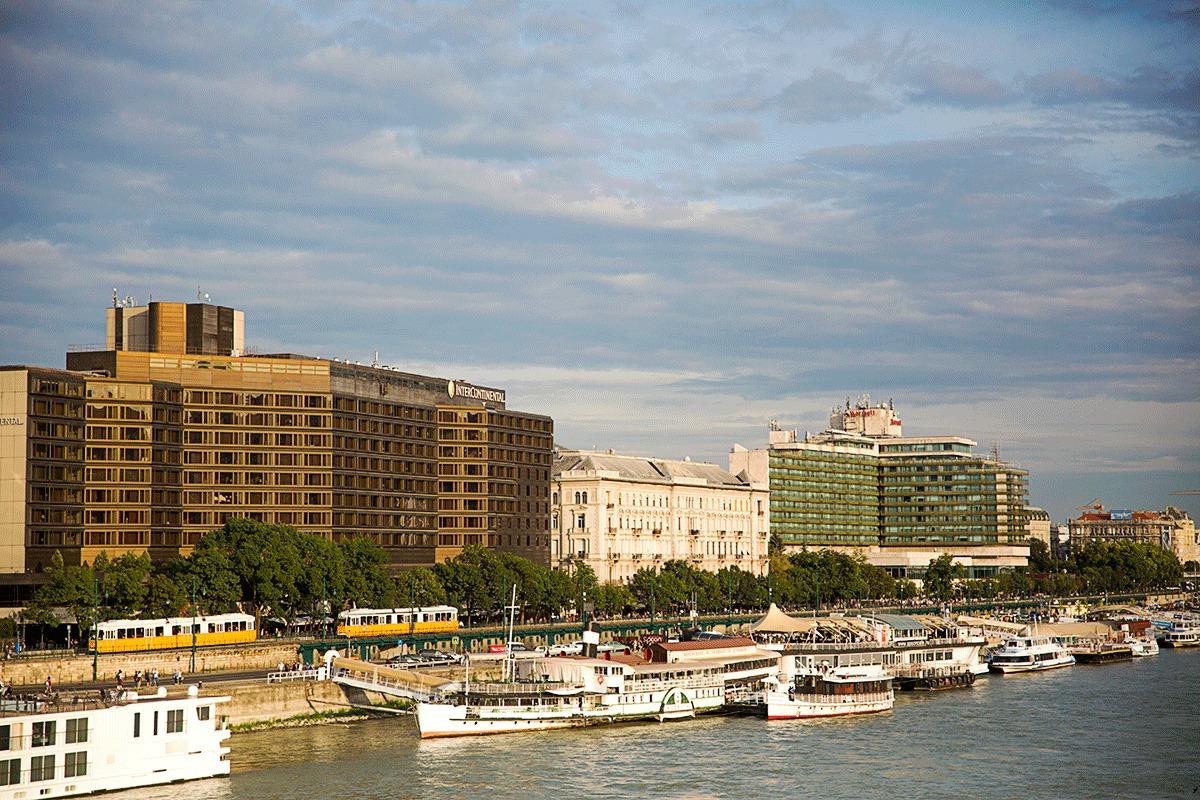 ブダペストマリオットホテルの外観