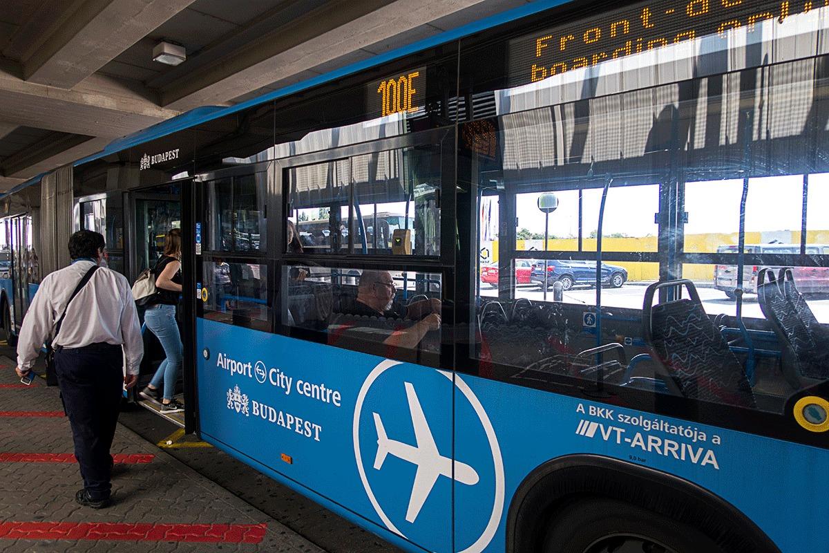 エアポートシャトルバスe100