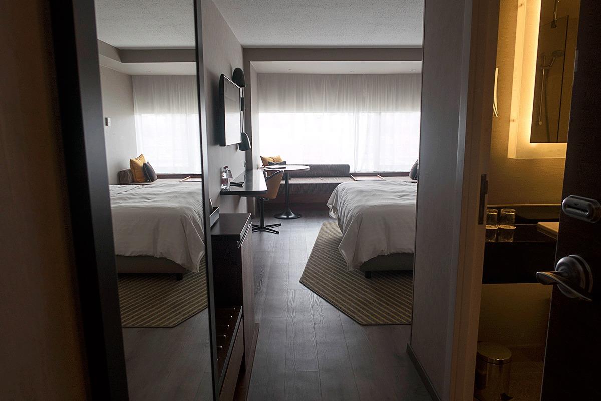 ブダペストマリオットホテルのデラックスルーム