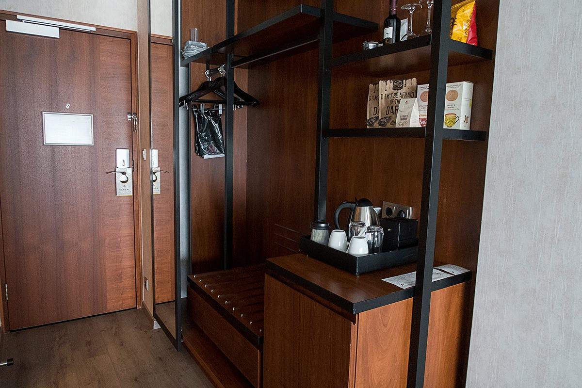 ブダペストマリオットホテルの室内