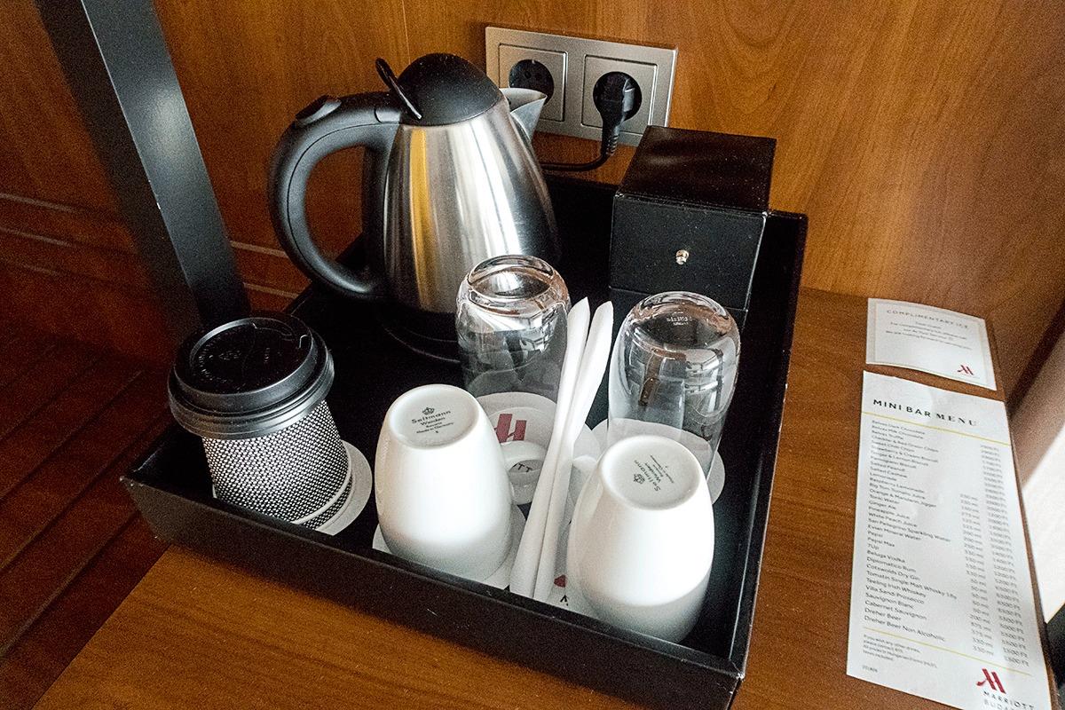 ブダペストマリオットホテルのコーヒー