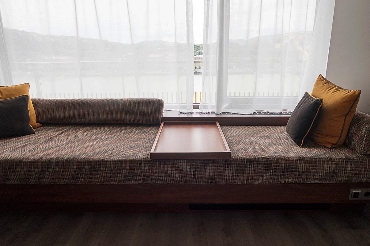 ブダペストマリオットホテルのソファー