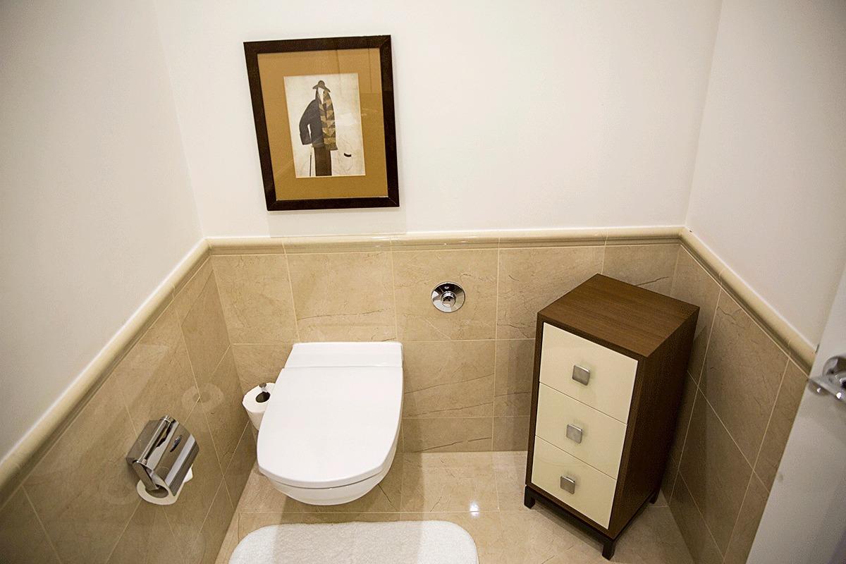 ザ・リッツ・カールトンブダペストのトイレ